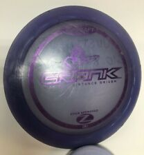Discraft Z Crank Purple on Purple Disc Golf Distance Driver Fast Shipping