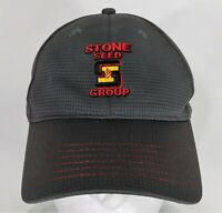 Stone Seed Group adjustable golf ball cap hat polyester gray farm K products