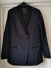 Maison Scotch Ladies Blazer Jacket Wool Blend Long Length Size 3 UK 12