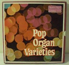 Pop Organ Varieties 4 Vinyl LP Box Set Excellent Condition!