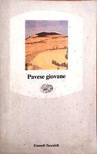 PAVESE GIOVANE. 1990 EINAUDI