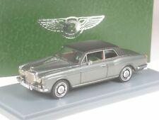 Klasse: Neo Scale Models Bentley Corniche Coupé dunkelgrau/schwarz 1:43 in OVP