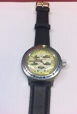 Russland Armbanduhr Uhr RUSSIA WATCH Militäruhr NOS Panzeruhr