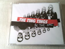THE TING TINGS - BE THE ONE - UK CD SINGLE