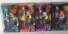 NEW DISNEY V.I.P. DOLLS CECE SHAKE IT UP,TEDDY GOOD LUCK CHARLIE,ROCKY,CHYNA SET