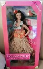New Barbie Collector Dolls of the World Hawaii 2012 Beautiful Doll
