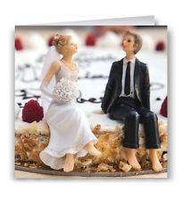 Wedding Card - Congratulations Cake