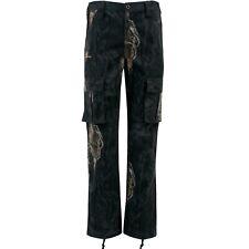 Mossy Oak Men's Hunting Camo Cargo Pants Eclipse Side Elastic Waistband Outdoors
