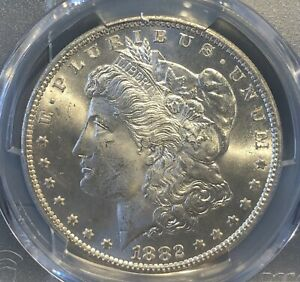 1882-CC Morgan Dollar MS64 PCGS