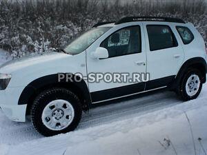 2010-2016 Dacia Renault Duster ABS Strip Door Protectors Side Mouldings 4pcs