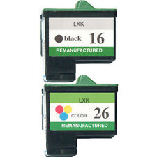 Lexmark No 16 & 26 For Z515 Z517 Z600 Z601 Printer Ink Cartridges