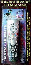 STRAND MASTER 5 in 1 REMOTE code 14242010 -  BOX of 6 REMOTES in BLISTER PACKS