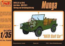"CMK 1/35 DKW F91/4 Munga ""NATO Staff Car"" (Post War Bundeswehr Staff Car) RA042"