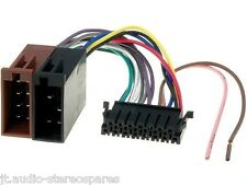 Sony Antiguo 15 Pin Nuevo Poder arnés de cableado Telar con ISO Accesorios