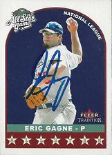 Eric Gagne Los Angeles Dodgers 2002 Fleer All Star Game Signed Card