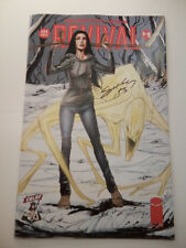SIGNED TIM SEELEY REVIVAL #9 CBLDF 2013 C2E2 VARIANT LE1000 SOLD OUT IN ONE HOUR