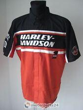 Harley Davidson Racing Shirt Herren Hemd Kurzarm 99086-12VM XL XLarge