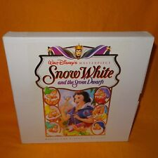 WALT DISNEY'S MASTERPIECE SNOW WHITE AND THE SEVEN DWARFS DELUXE CAV LASER DISC