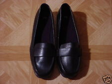Women's Black Slip-On Dress Loafer Shoes Size 8 W