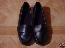 Women's Black Slip-On Dress Loafer Shoes Size 8 1/2 W