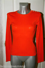 pretty sweat cotton orange RALPH LAUREN size S/P mint