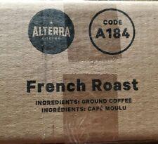 New listing Flavia/Alterra French Roast Coffee A184 Case Box of 100 Packs/Pods 5 Rails Dark