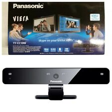 Panasonic TY-CC10W / TYCC10W Viera HD Skype Enabled Webcam Wide Angle 720p