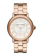 Marc Jacobs Riley Rose Gold Stainless Steel Bracelet MJ3471 Ladies Watch