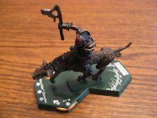 "LOTR TMG Combat Hex TT 013 Warg Rider Champion Mounted ""RARE"""