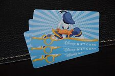 2011 Disney Donald Duck Gift Card Fab 5 Walt Disney World No Cash Value WDW