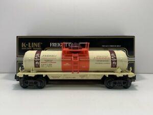 K-Line K632-9011 NORCAL Single Dome Tank Car EX/Box
