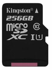 Kingston SDCS 256 GB Micro SD Canvas Select Class 10 Uhs-i Memory Card