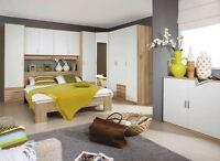 12429 berbau schlafzimmer bett schrank birke massiv. Black Bedroom Furniture Sets. Home Design Ideas
