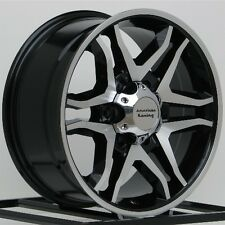 17 Inch Black Wheels Rims Ford Truck F F150 Expedition 6x135 Lug American Racing