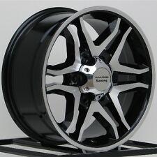 17 Inch Black Wheels Rims Ford Truck F F150 Expedition 6x135 Lug American Racing