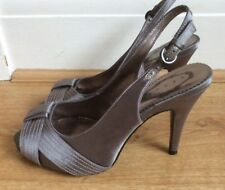 Ladies Shoes By Debut Brown Size 4