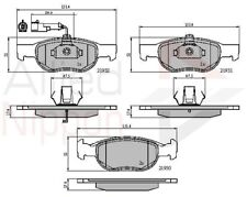 NEW ALLIED NIPPON - FRONT - BRAKE PADS SET FIAT BRAVO  ADB1479
