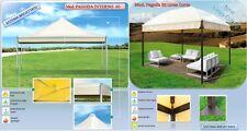 Gazebo in Accia zincato mt. 4 x 6  Pagoda Evolution Telo PVC 650 gr/mq Su misura
