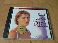 Viktoria Mullova - Bach : Violin Concertos - Leleux - CD Philips Korea