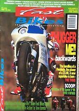 RENTHAL ROAD RACE HANDLEBAR GRIPS FIRM FITS HONDA VFR750R RC30 1988-1992