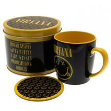 More details for nirvana mug and coaster gift tin