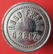 Old Rare Deutsche - Greiz - Hugo Frank - 1 getrank - UNLISTED - mehr am ebay.pl