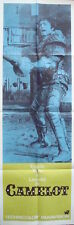 CAMELOT Door panel movie poster 20x60 FRANCO NERO RICHARD HARRIS 1967