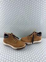 Timberland 'TENMILE' Wheat Nubuck Lace Up Chukka Boots Men's Size 8 M