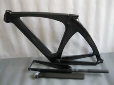 carbon track bike frame 56cm top tube fixed gear included frok,seatpost,headset