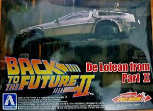 DeLorean Ritorno al Futuro 2 Back to the Future BTTF - 1:43 Aoshima Kit