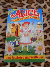 Alice au pays des merveilles n° 1 - N.E.R.I. 1985