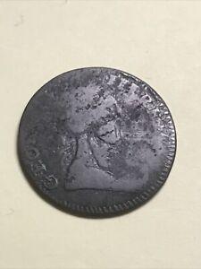 1784 Machin's Mills Colonial Copper Half Penny