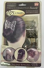 EZ Combs Caramel Bronze/Dazzling Silver As Seen On TV New In package