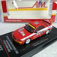 1/64 INNO64 Nissan Skyline GTR R32 AIM Motorsport JTC FUJI 1992 IN64-R32-AIM92
